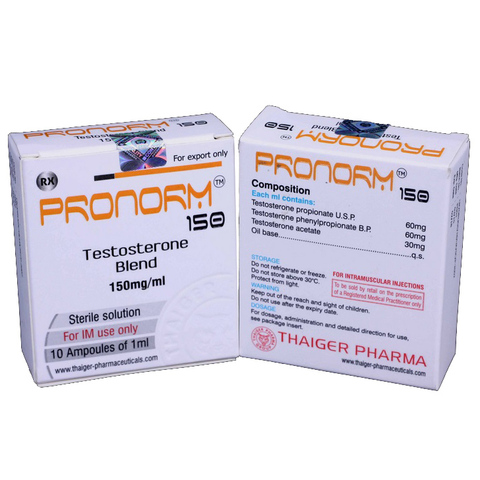 Pronorm 150 Testosterone-Blend